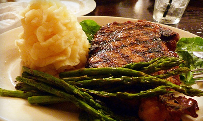 The DeLand Stockyard - DeLand: Steakhouse Cuisine for Two or More or Four or More at The DeLand Stockyard (Half Off)