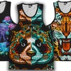 INTO THE AM Men's Zoo Collection Tanks