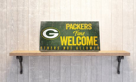 NFL Fan's Welcome Sign (6