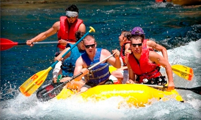 River Journey - Knights Ferry: Self-Guided Tandem Kayaking for Two or Rafting for Up to Six on Stanislaus River from River Journey (Up to 55% Off)