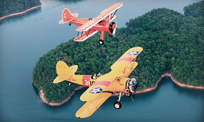 Bi-Plane Adventures, Inc. - Kennesaw: $87 for 20-Minute Bi-Plane Flight from Bi-Plane Adventures, Inc. ($178.20 Value)