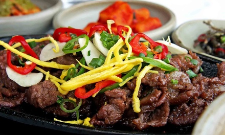 Barbecue for Dinner or Lunch at Palace Korean Bar & Grill (Up to 35% Off)