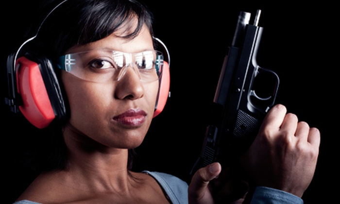 Coal Creek Armory - Multiple Locations: Shooting-Range Outing, Coed or Women's Basic Handgun-Safety Class, or Annual Pass at Coal Creek Armory (Up to 54% Off)