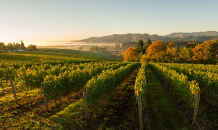 Wine Tasting with Wine Credit for Two or Four at Tualatin Estate Vineyards (Up to 34% Off)