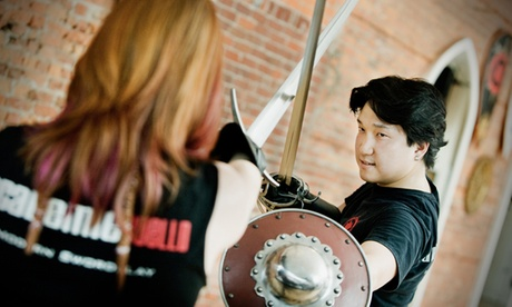 Intro to Swordplay, Victorian Boxing, or Mounted Combat Classes at Academie Duel...