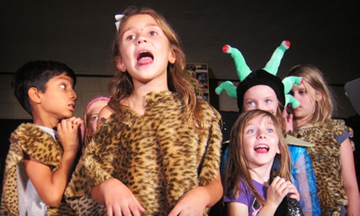 Theatre of the Imagination - Leawood South: $62 for a One-Week Performing-Arts Camp for Kids at Theatre of the Imagination ($125 Value). Three Options Available.