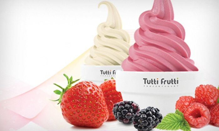 Tutti Frutti - Millenia: Frozen Yogurt at Tutti Frutti (Up to 55% Off). Two Options Available.