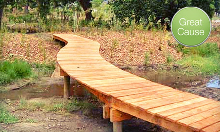 Portland Trails - Old Port District: If 50 People Donate $10, Then Portland Trails Can Build 25 Feet of Boardwalk Trail through the Fore River Sanctuary