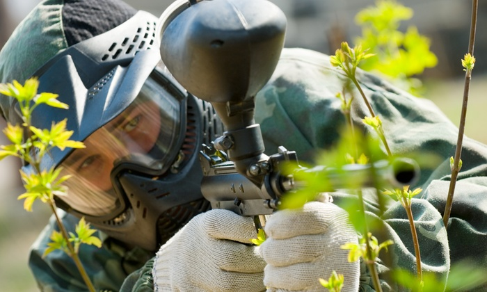Timberline Adventure Park - Bauxite: Paintball Games, Gear Rental, and Paintballs for Two or Four at Timberline Adventure Park (Up to 48% Off)