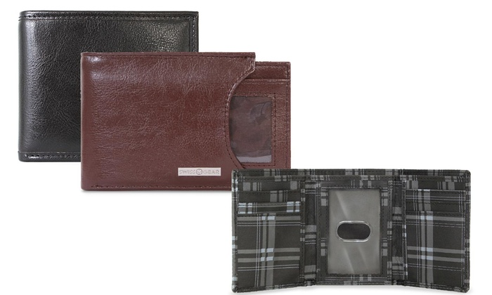 Swissgear Men S Wallets Groupon Goods