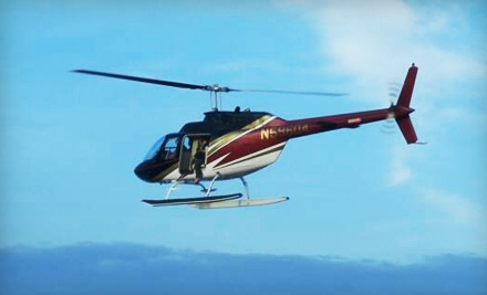 $155.99 for an Introductory Helicopter-Flying Lesson at Timberview Helicopters ($299 Value)