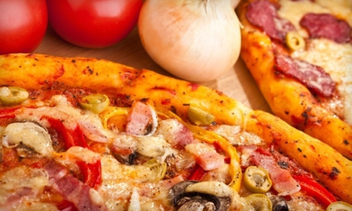Heady's Pizza - Evansville: One, Two, or Three Pizza Combos with an Appetizer, 12-Inch Pizza, and Soda at Heady's Pizza (Up to 60% Off)