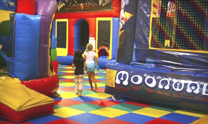 Space Kidets - Matthews: One, Five, or Eight Open-Bounce and Arcade Sessions at Space Kidets (Half Off)