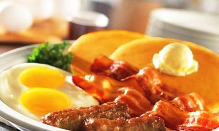 Three Groupons, Each Good for $16 Worth of Diner Food at Denny's in Otsego (Up to 44% Off)