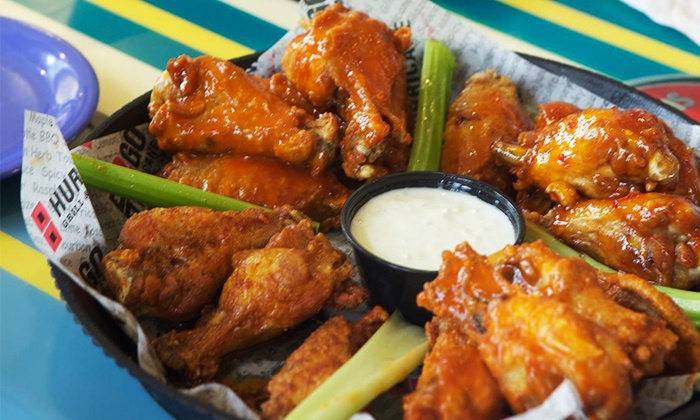 Hurricane Grill & Wings  - Palm Beach Gardens: Wings and Beer Pitchers at Hurricane Grill & Wings (Up to 42% Off). Three Options Available.