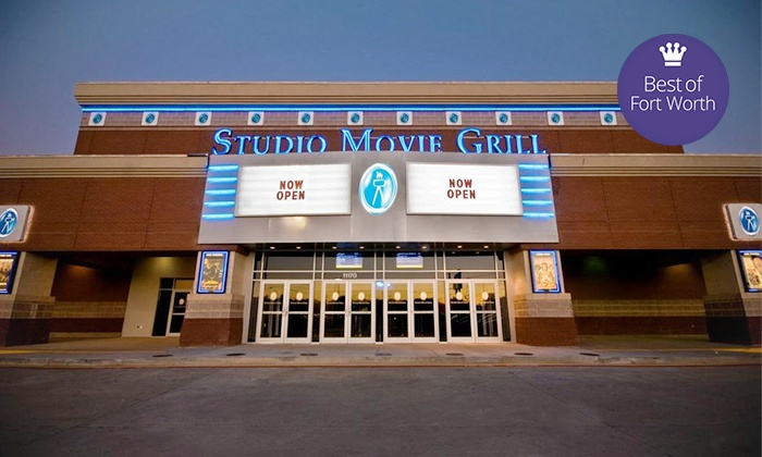 Studio Movie Grill - Arlington: $6 for a Movie Outing with a Ticket at Studio Movie Grill (Up to $10.50 Value)