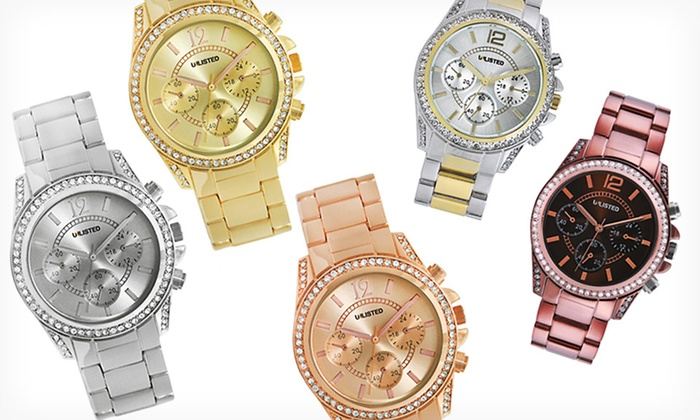 Unlisted by Kenneth Cole Women's Watches: $19.99 for an Unlisted by Kenneth Cole Women's Watch ($59.99 List Price). 5 Colors Available. Free Shipping and Returns.