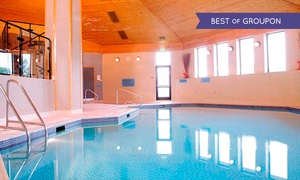 Bridgewood Manor: Spa Access For Two With Coffee and Pastries for £15 at 4* Bridgewood Manor