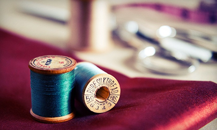Newbury Tailoring Company - Back Bay: Tailoring Services at Newbury Tailoring Company (Up to 53% Off). Two Options Available.