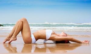 Platinum Skin And Body Med Spa: $10 for $35 Worth of Manual Airbrush Spray Tanning — Platinum Skin And Body Med Spa