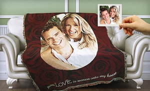 53% Off Photo Blanket from PhotoWeavers
