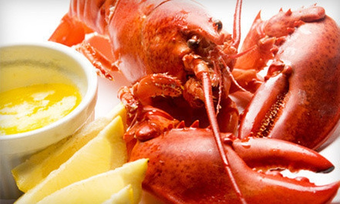Star Steak and Lobster House - New Orleans: $30 for Steak or Seafood Dinner for Two with Wine at Star Steak and Lobster House (Up to $67 Value)