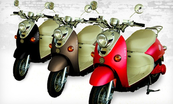 Greenbee Electric Vehicles Technology - Livermore: $1,250 for a Greenbee Metro 2 Electric Motorcycle from Greenbee Electric Vehicles Technology in Livermore ($2,500 Value)