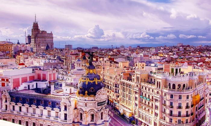 Spain Vacation with Hotels and Air from go-today in - Madrid