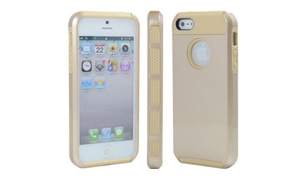 3DLuxe Dual-Layer Gold iPhone 5/5s Case. Multiple Colors Available. Free Returns.