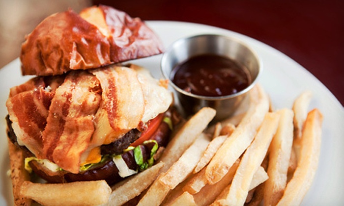 Bird of Paradise Pub - Victoria: Up to 62% Off Burgers or Brunch at Bird of Paradise Pub