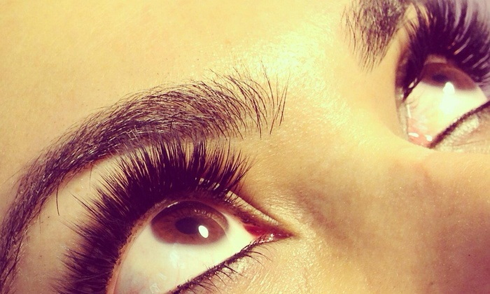Luscious Lashes - Mission Viejo: Full Set of Eyelash Extensions at Lashes by Lisa  (49% Off)