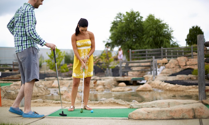 Aloha Falls Miniature Golf - Libertyville: Miniature-Golf Outing for Two or Four at Aloha Falls Miniature Golf (Up to 47% Off). Four Options Available.