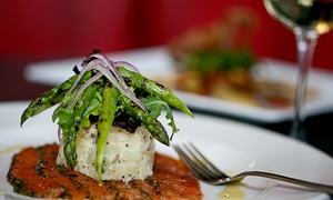 Blu Saffron Bistro: Gourmet Winery Bistro Dinner for Two or Four at Blu Saffron Bistro (40% Off)