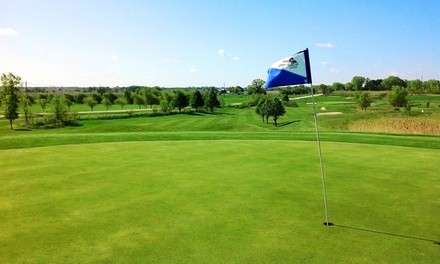 18-Hole Round of Golf with Cart and Range Balls for Two or Four at Kestrel Ridge Golf Club (51% Off)