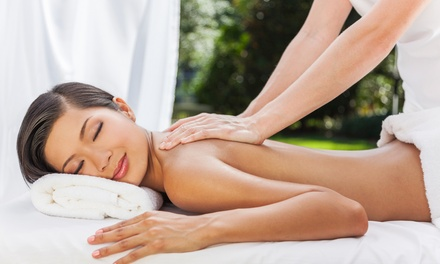 45-Minute Full-Body or 30-Minute Back Massage at Golden Clinic (Up to 59% Off)