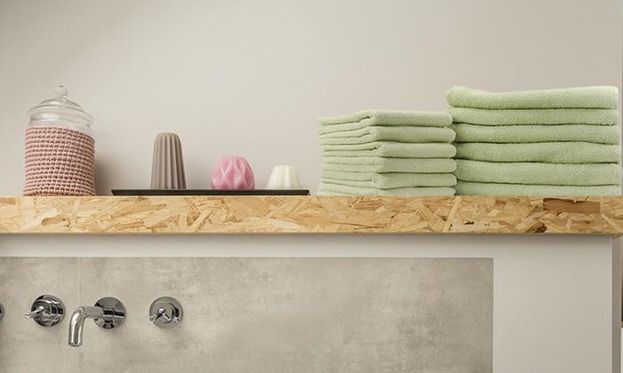 Set da 12 asciugamani in cotone