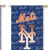 MLB Suede Metallic House Flags