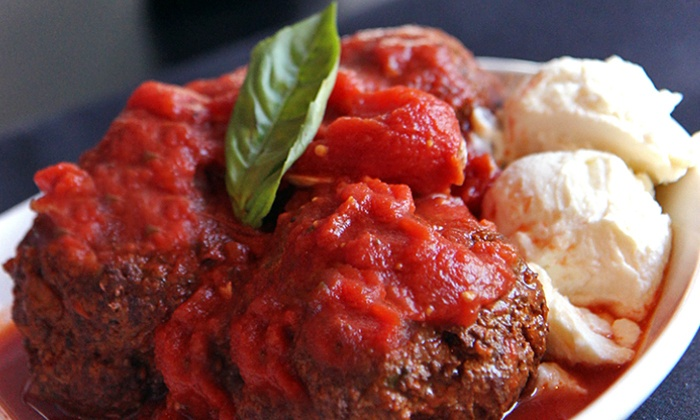 Meatball Room - Woodfield Country Club: Up to 50% Off at Italian Food at Meatball Room. Two Options Available.