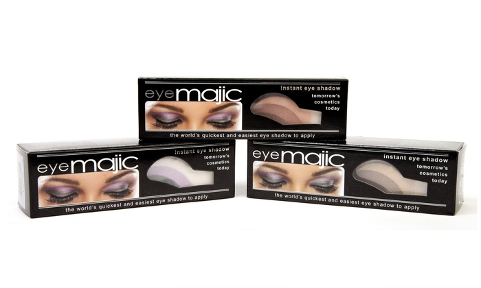 5- or 10-Piece Eye Majic Instant Eye Shadow Sets | Groupon