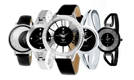 Orologio da donna Sc Crystal con cristalli Swarovski® disponibile in vari modelli e colori
