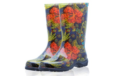 Women's Midsummer Waterproof Rain and Garden Boots