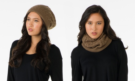 Olive Street Convertible Hat and Neck Warmer | Groupon Exclusive