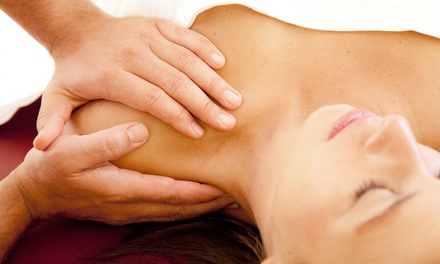 Swedish or Deep-Tissue Massage with Heat Therapy and Optional Revival Facial at Theratopia (Up to 60% Off)