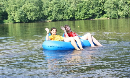 Tubing for One, Two, or Four from Bucks County River Country, Inc. (Up to 54% Off). Six Options Available.