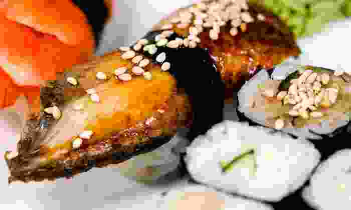 Bamboo Bistro Steakhouse & Sushi Bar - Thornhill: $10 for $20 Worth of Sushi and Japanese Cuisine at Bamboo Bistro Steakhouse & Sushi Bar
