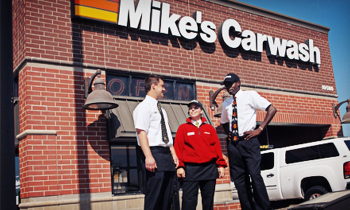 Mike's Carwash - Multiple Locations: $21.99 for Three The Works Carwash Packages at Mike's Car Wash ($Up to 45 Value)