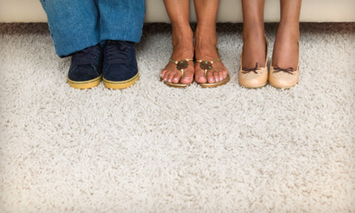 Big Foot Carpet Cleaning - Santa Cruz: Carpet Cleaning for a Hallway and Three or Six Areas from Big Foot Carpet Cleaning (Up to 58% Off)