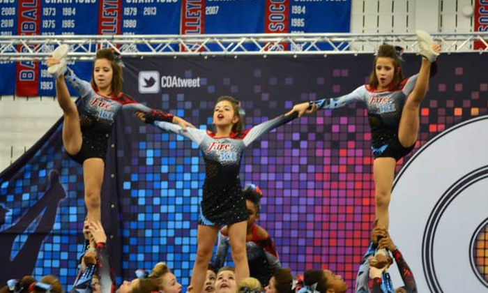 Fire And Ice Allstars- Pittsburgh - Brookline: 12 Weeks of Cheerleading Classes at Fire and Ice Allstars (30% Off)