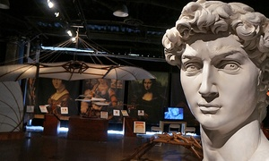 """""""Divine Michelangelo & DaVinci: Side by Side"""" Exhibit: """"DaVinci and Michelangelo: Side by Side"""" Exhibition at The Bradenton Auditorium Through May 31 (Up to 50% Off)"""