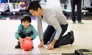 Oak Bowl: Bowling and Game Night for Two or Four at Oak Bowl (Up to 62% Off). Four Options Available.